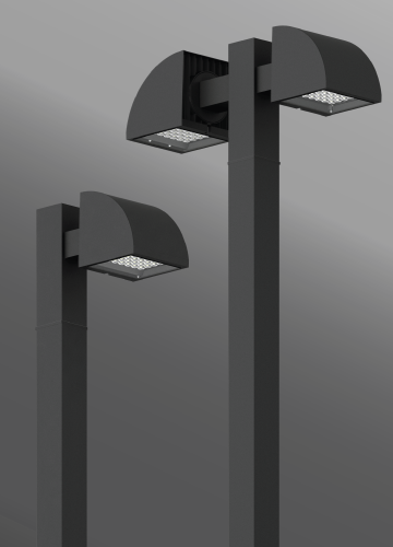 Click to view Ligman Lighting's Quarter Post Top (model UQU-200XX).